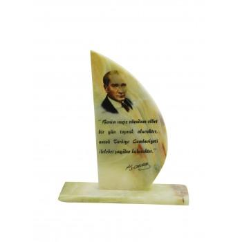 Resim Baskılı Plaket 'Kemal Atatürk'